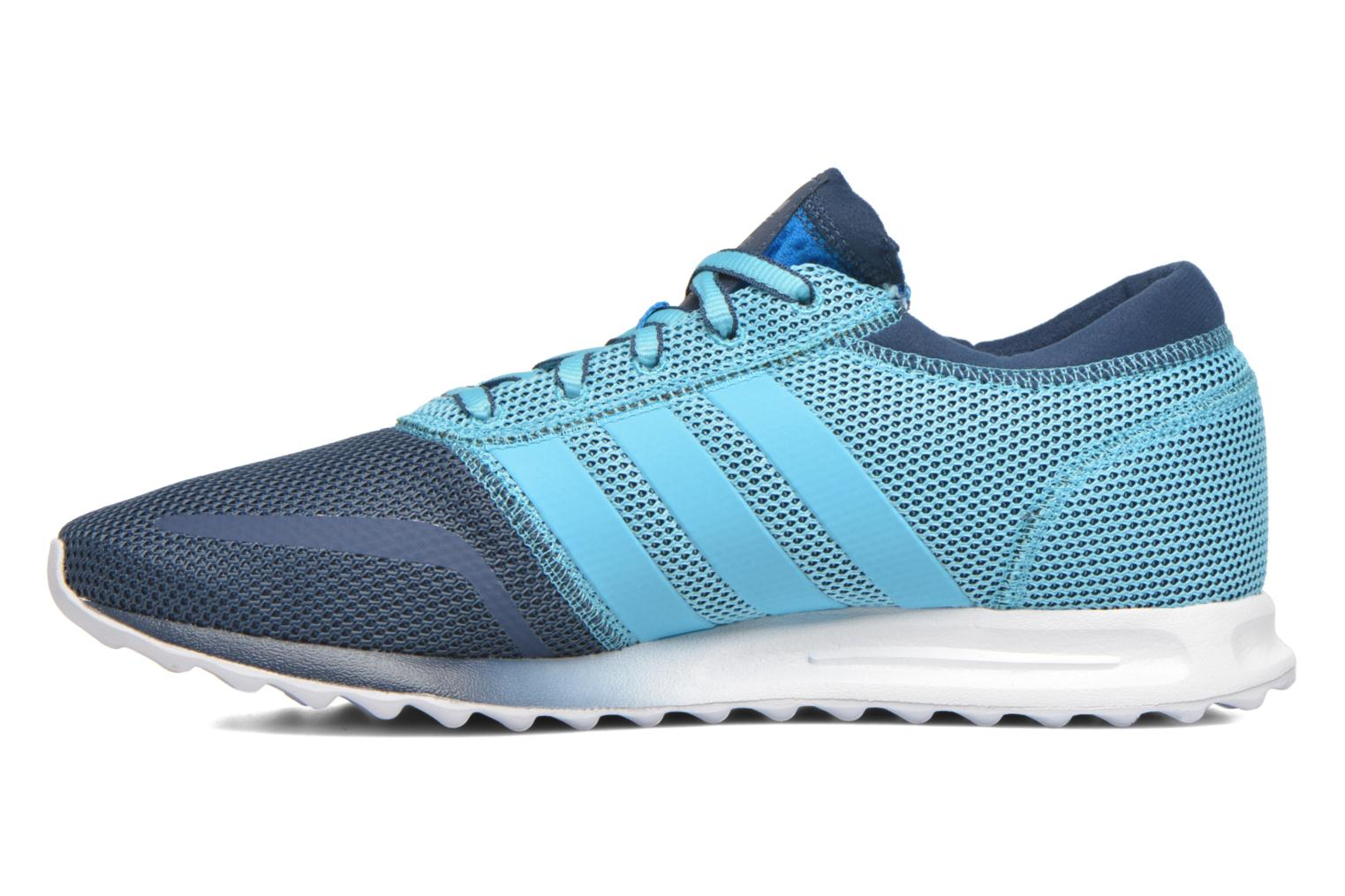 Baskets Adidas Originals Los Angeles Bleu vue face